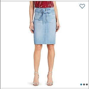 Sam Edelman The Riley Belted Denim Skirt